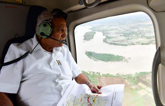 Karnataka CM to take up aerial survey of flood-affected areas
