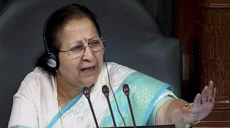 Sumitra Mahajan to inaugurate 2-day South Asian Speaker