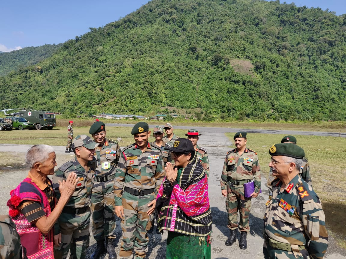 Defence Minister Nirmala Sitharaman cautions jawans not to believe what appears in social media