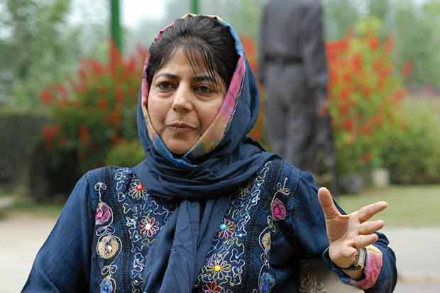Only talks can solve Kashmir issue:Mehbooba