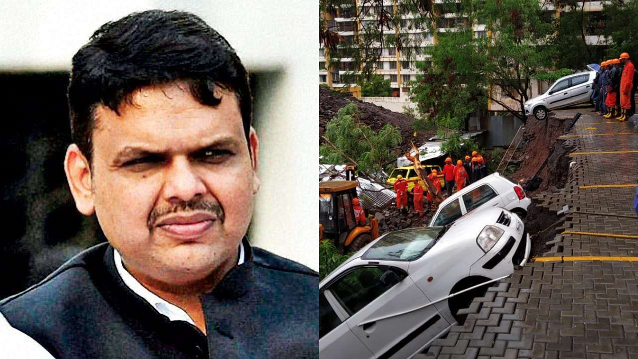 Fadnavis orders inquiry into Pune wall collapse incident