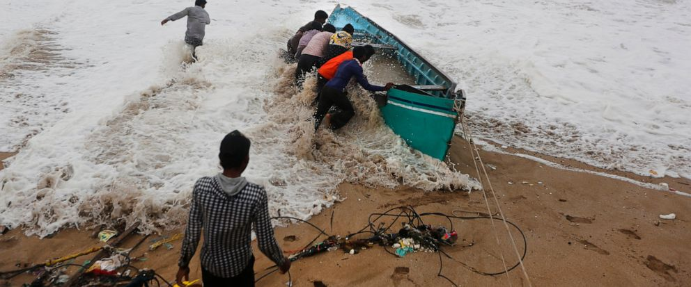 Depression emanated from cyclone Vayu moves east-northeastwards in Gujarat