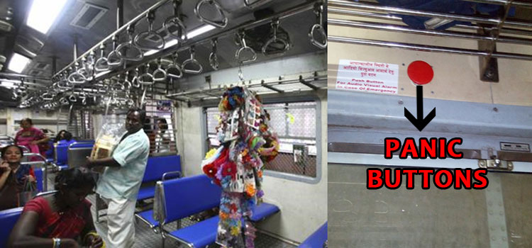 Railways plans to install panic buttons in trains for women and child safety