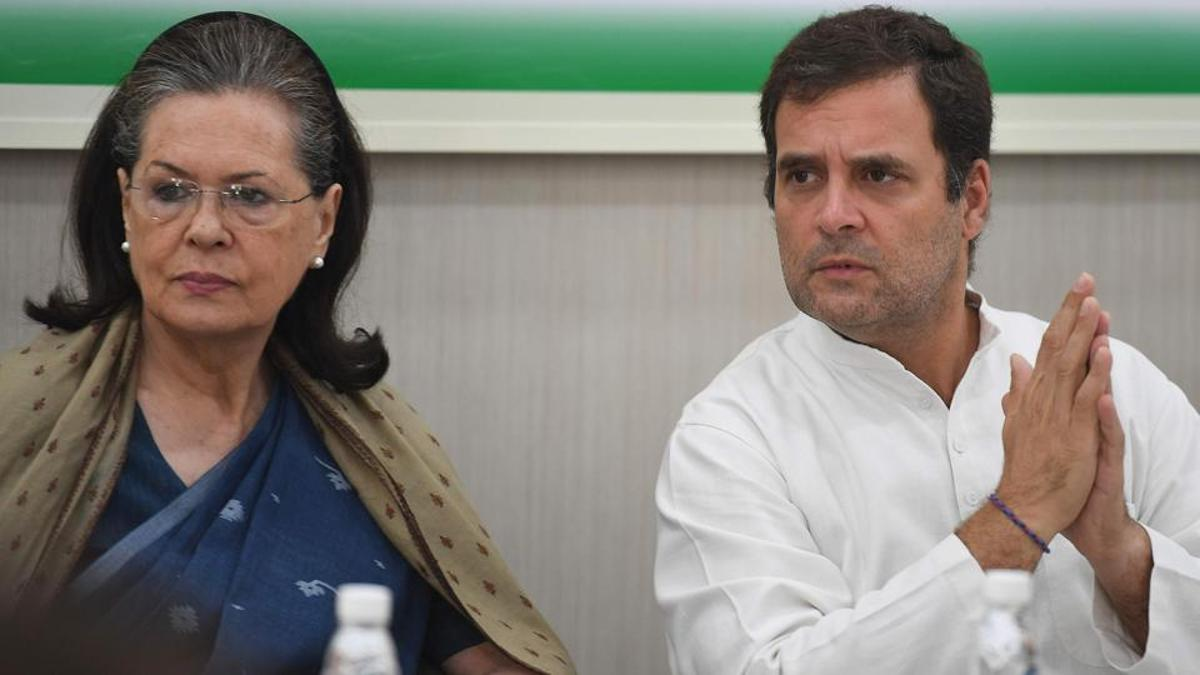 Sonia, Rahul Gandhi to not participate in choosing next Congress president