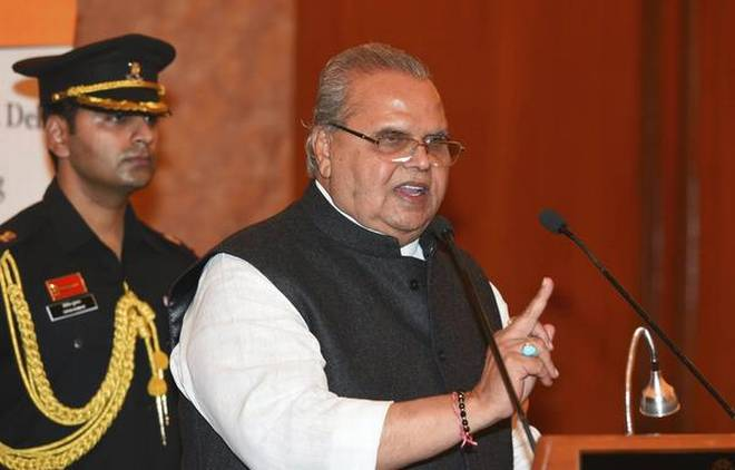 J-K Governor says his admin wants President