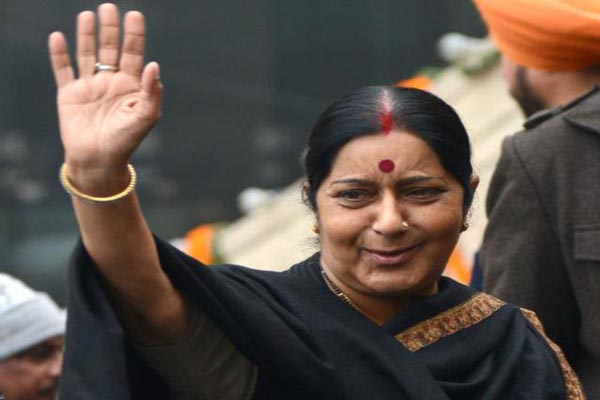 Sushma Swaraj to be in ghatkoper  tomorrow
