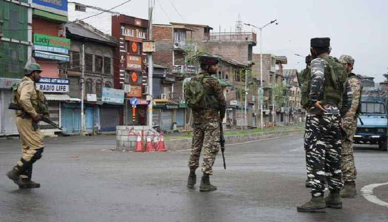 Encounter underway in Srinagar