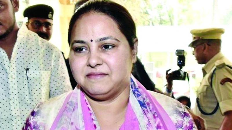 Misa Bharti produced before Delhi court