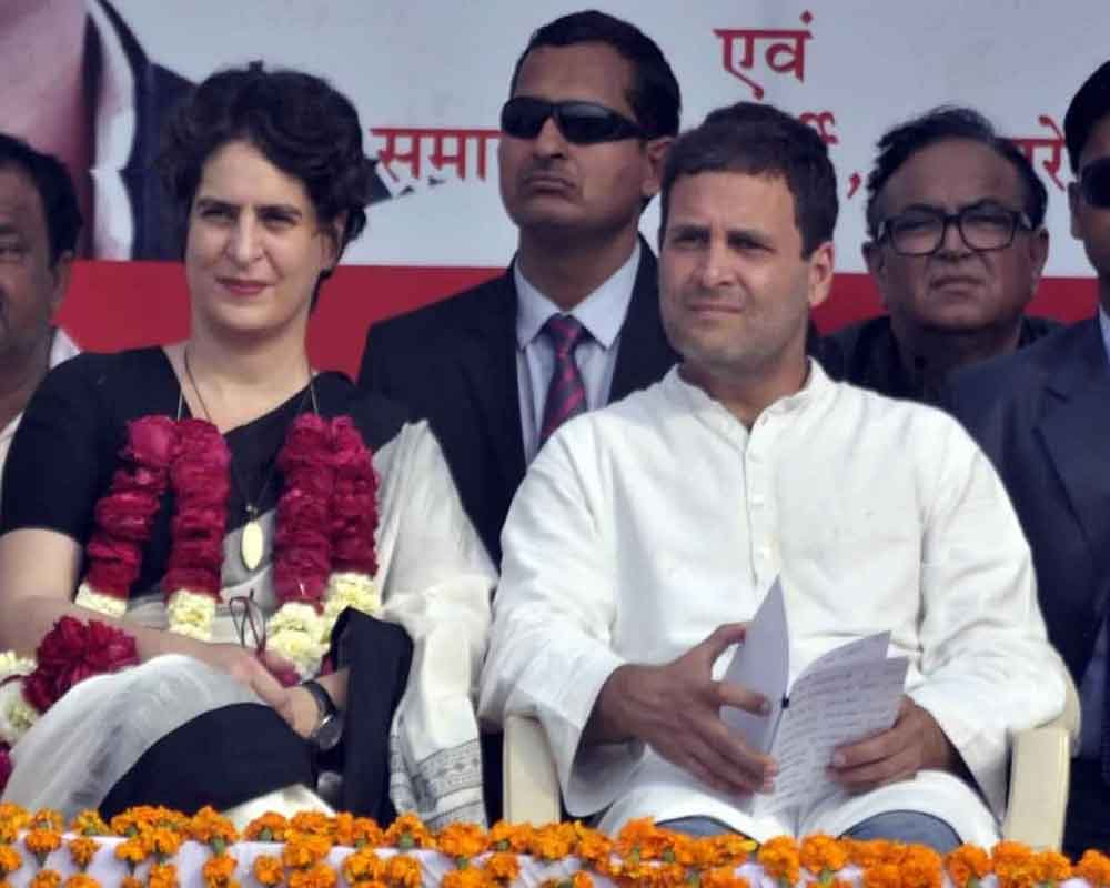 Priyanka begins roadshow in Lucknow