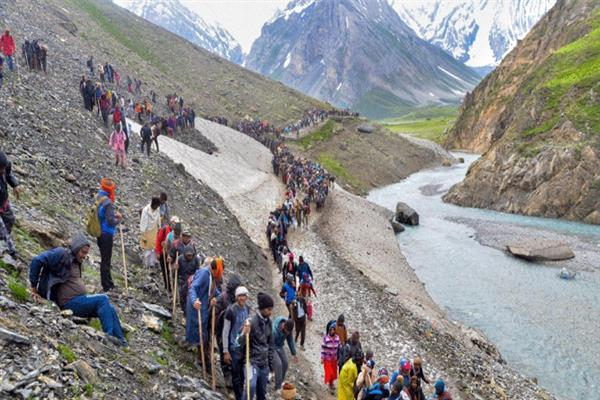 Amarnath Yatra to remain suspended till 4th August