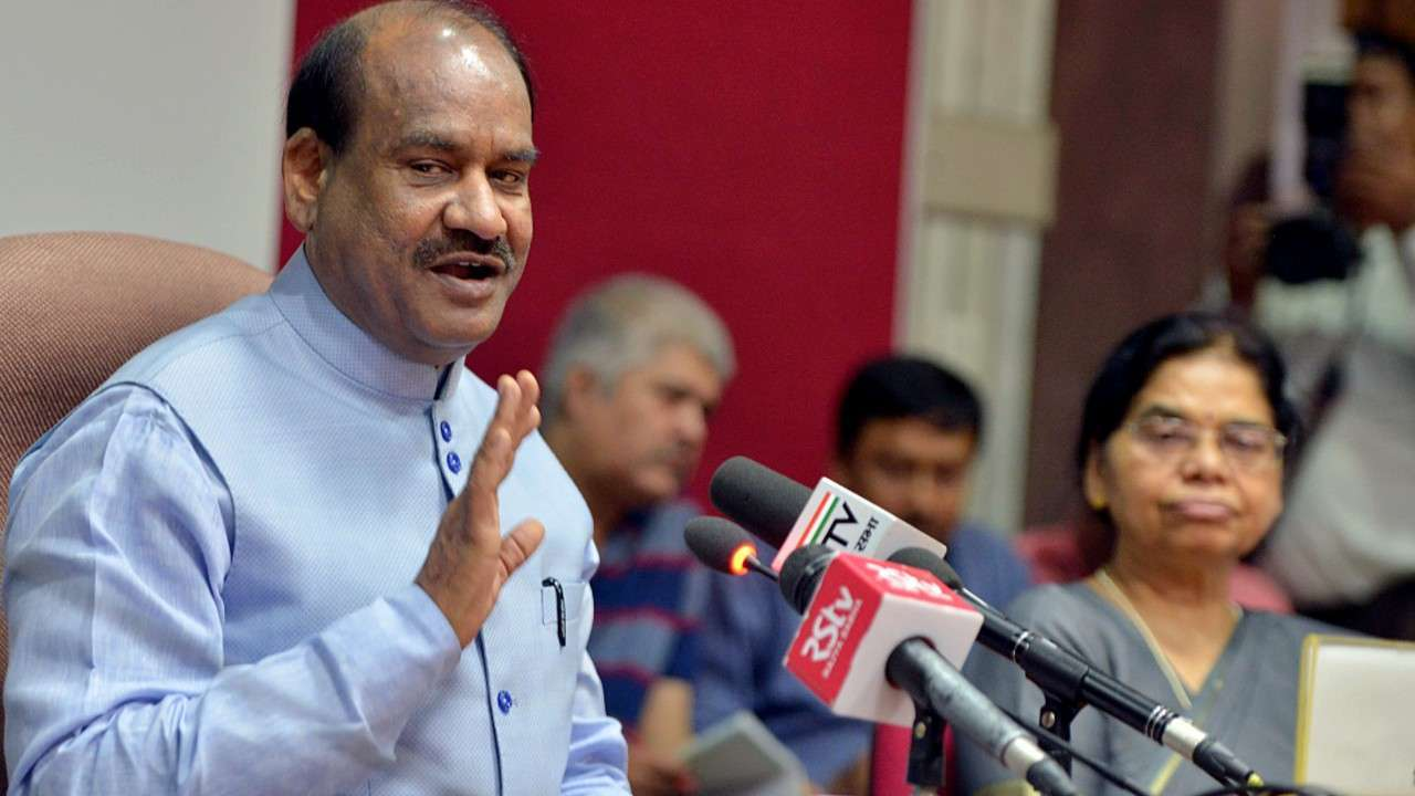Lok Sabha speaker Om Birla writes to EU Parliament; calls anti-CAA resolution