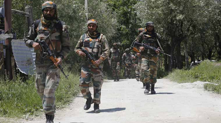 One terrorist killed by security forces in Pulwama,J&K