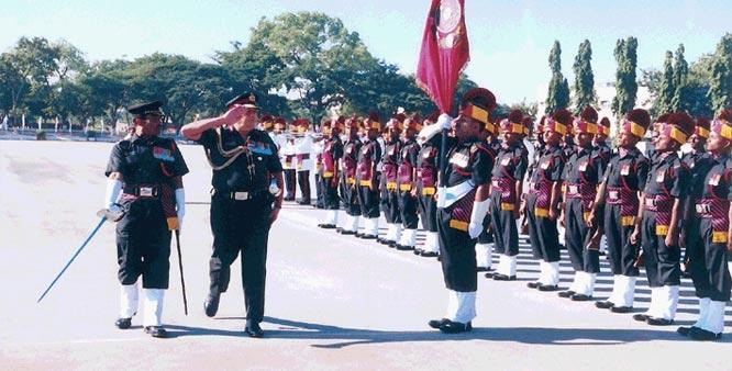 Territorial Army celebrates it