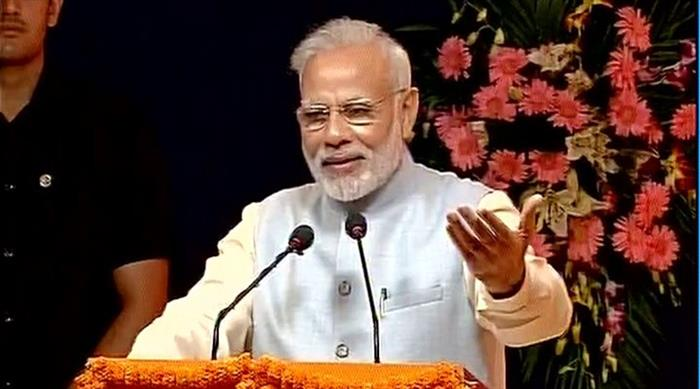 Prime Minister Narendra Modi said Development is the only answer to violence.