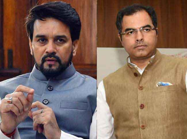 Delhi polls: EC orders removal of Anurag Thakur, Parvesh Verma as BJP
