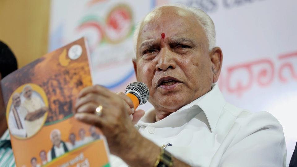 BJP chief BS Yeddyurappa warns of stir if farm loans not waived in 24 hours