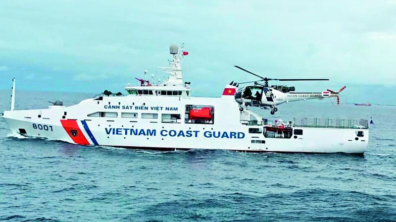 Coast Guards of India, Vietnam hold joint exercise off Chennai