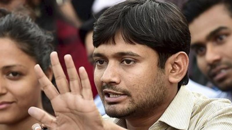Youth slaps Kanhaiya on JNU campus