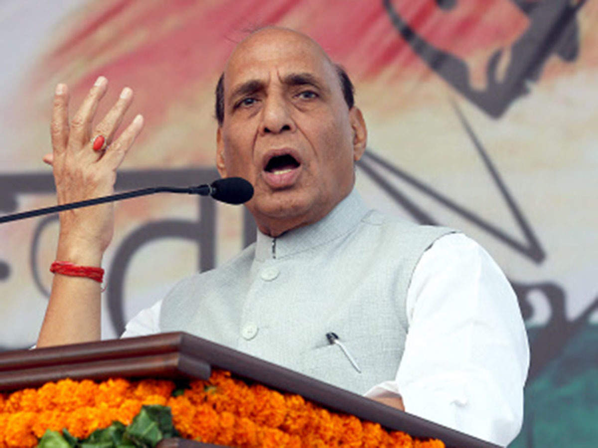 Rajnath Singh urges defence industry to come forward, says not worried about potential corruption charges