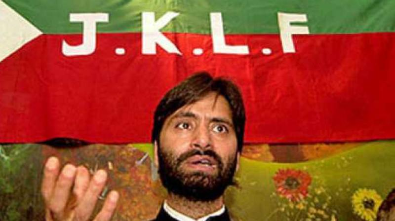 Yasin Malik-led JKLF banned by Centre