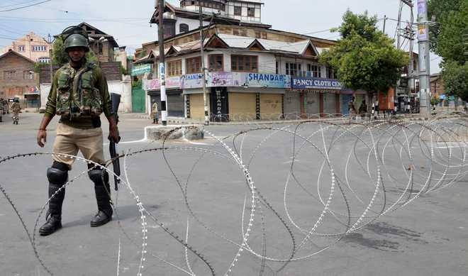 restrictionsinsrinagarafterstrikecallbyseparatists