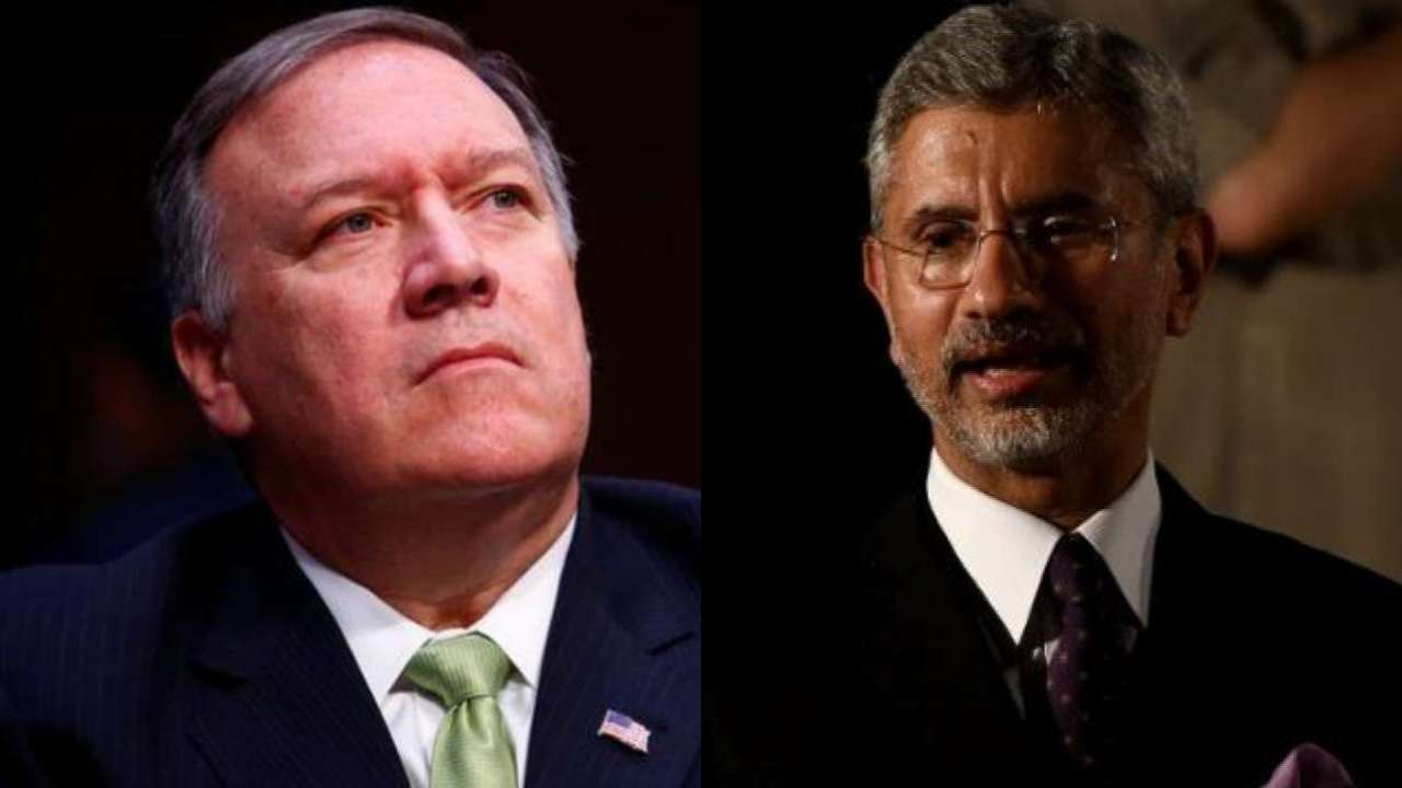 EAM Dr S.Jaishankar to hold talks with Mike Pompeo today