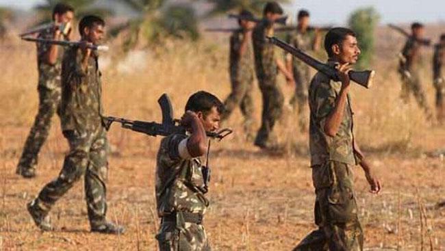Chhattisgarh : Three naxals gunned down, weapons recovered