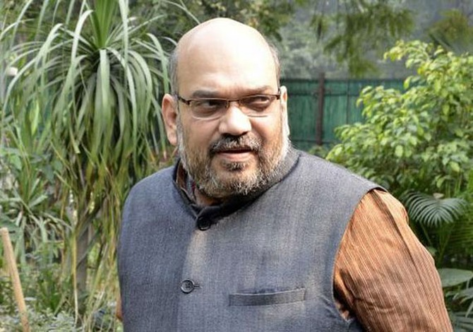 Congress leader says Amit Shah has contracted suar ki beemari