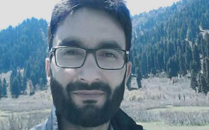 Kashmir University professor gets killed within 40 hrs of joining militancy