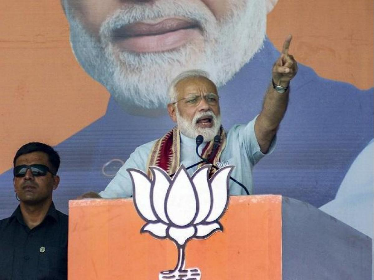 Speedbreaker didi lost sleep after 2 phases of LS polls: Modi
