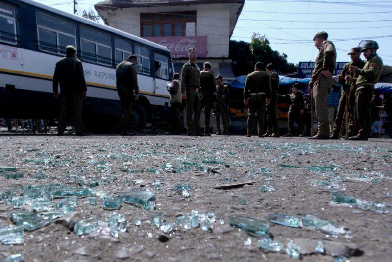 Grenade blast at Jammu bus stand; 1 dead, around 30 Injured