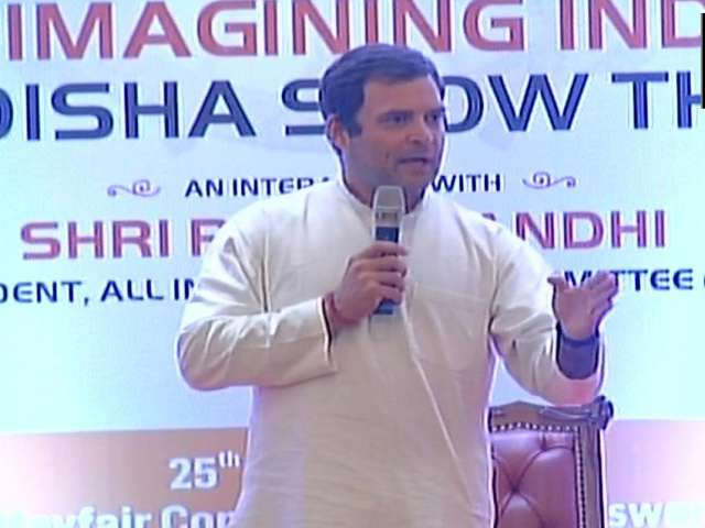 RSS mother of BJP, wants to control all institutions in country: Rahul Gandhi