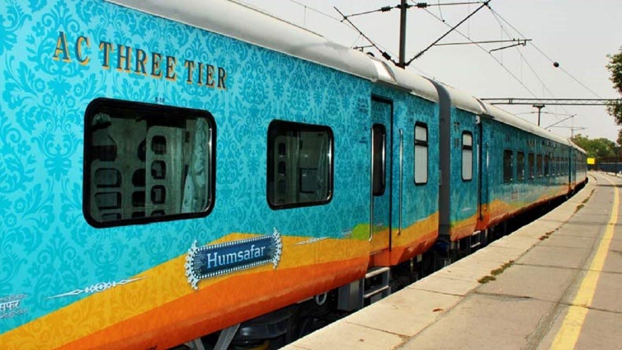 Humsafar Superfast Express train flagged off from Jammu
