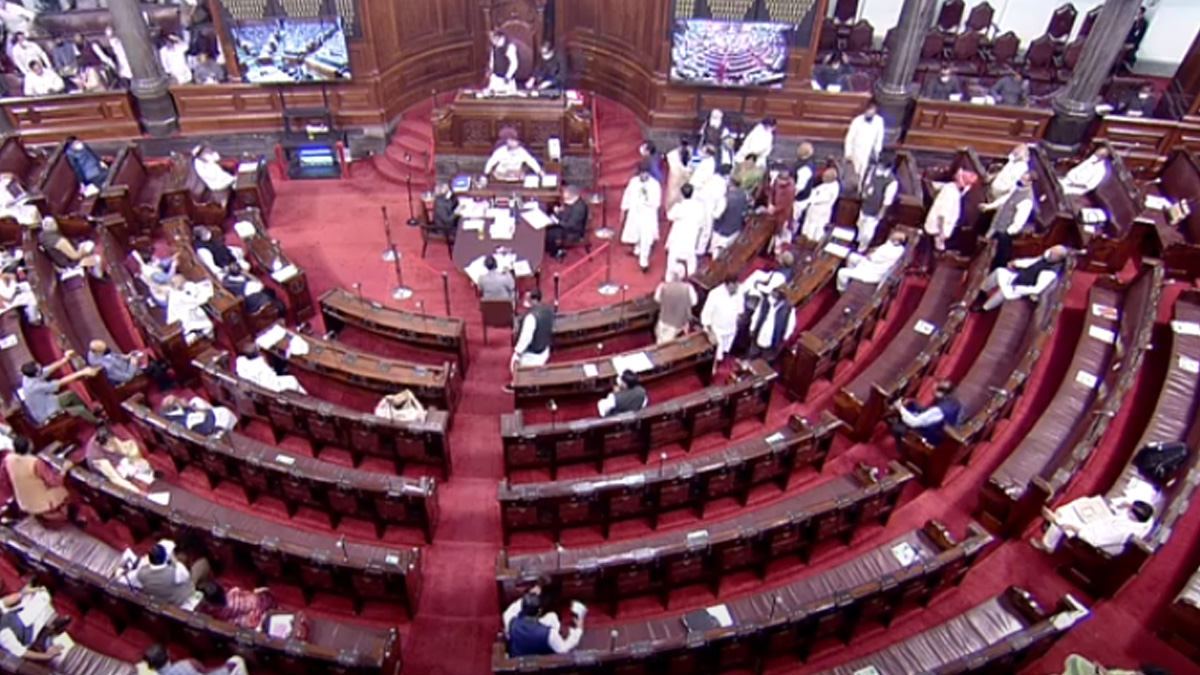 RS adjourned till 1 pm amid opposition uproar over fuel prices
