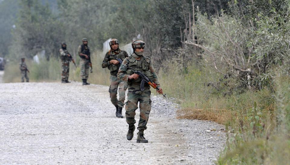 4 CRPF men, 4 cops and two militants killed in J-K