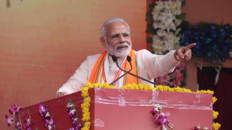 PM Modi takes dig at Congress during Jan Abhar Rally in Himachal Pradesh