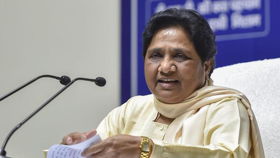 Outsiders threatening voters in Varanasi: Mayawati