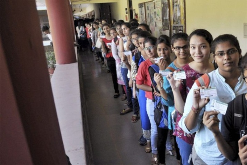 Polling under way for DUSU polls at 52 centres