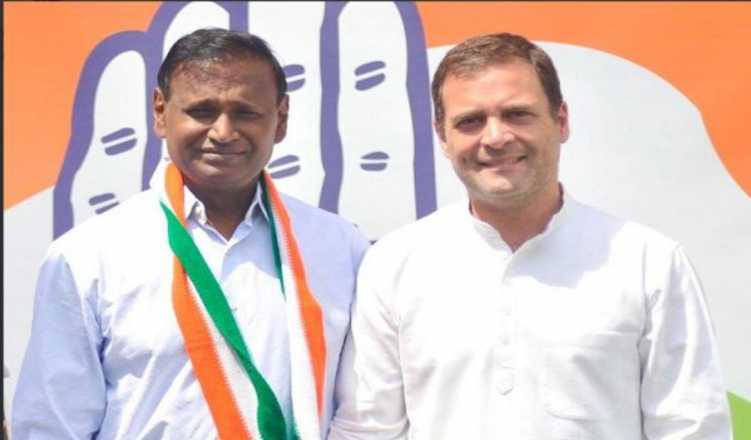 MP Udit Raj leaves BJP, joins Congress