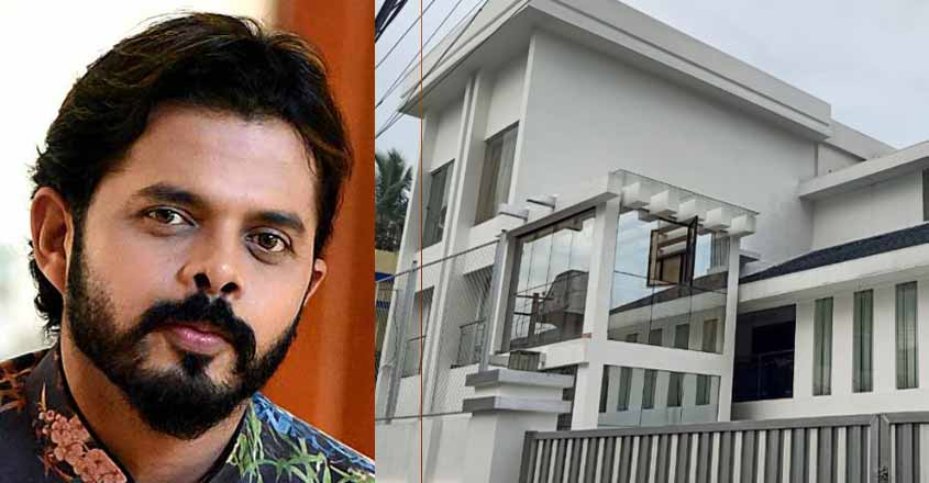 Fire breaks out at Sreesanth
