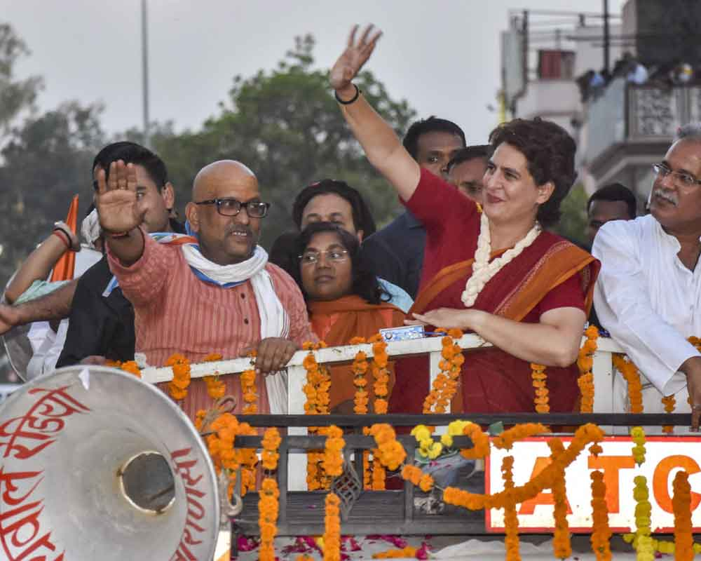 Modi government arrogant, not strong, says Priyanka Gandhi