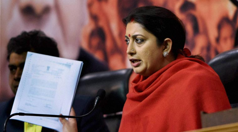 Smriti Irani rejects allegations of interference in Hyderabad University