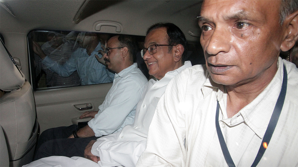 CBI arrests P Chidambaram in INX media corruption case