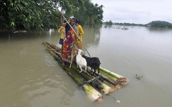 Assam Flood Situation Worsens, 3.4 Lakh People Affected Across 14 Districts