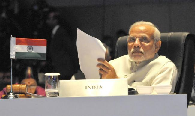 PM Modi interacts with Collectors of aspirational districts