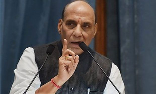 Treat Kashmiris nicely wherever they live in India: Rajnath Singh