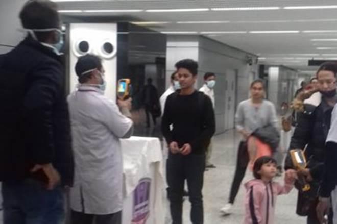 Thermal Screening of passengers arriving from China, Hong Kong at 7 airports across India