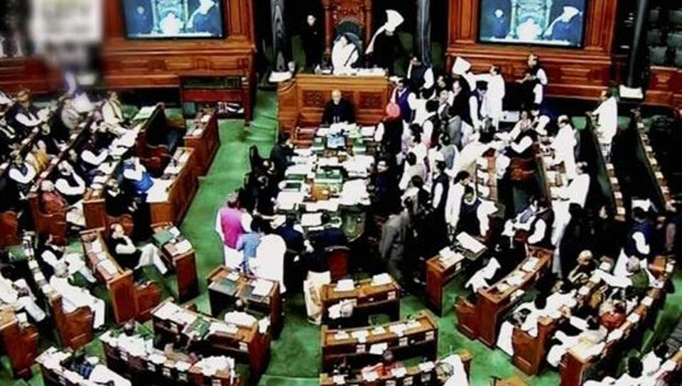 Lok Sabha disrupted for 10th day