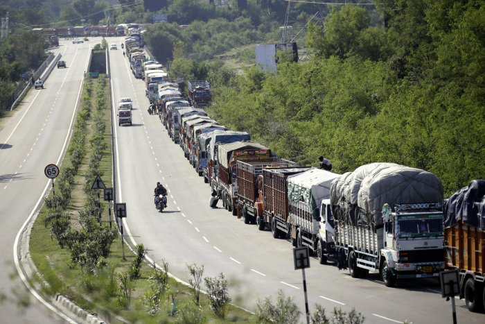 Traffic on Jammu-Srinagar National Highway resumes