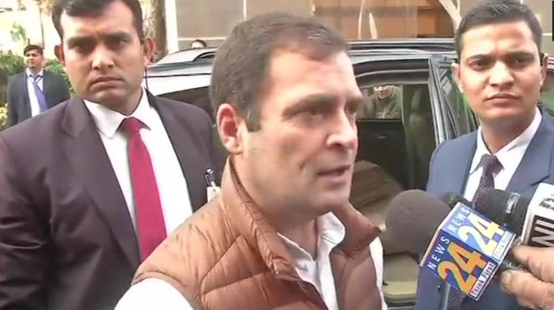 Nothing will save PM from Rafale: Rahul Gandhi after SC order on CBI chief